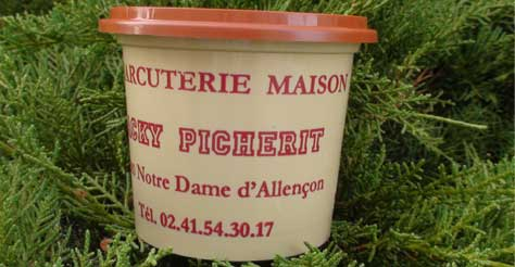 Rillettes artisanales Angers